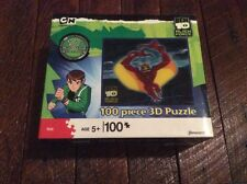 Ben 10 Alien Force 100 Piece 3D Effect Childrens Puzzle Jetray 2009