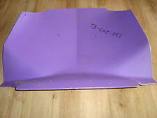 NEW Sno Stuff Pro Glider Polaris Belly Pan Protector Purple 130-207-86