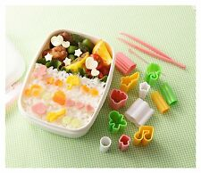 New Bento Deco Ham Cheese Vegetable Mold Cutter DIY Lunch Japan Free Shipping