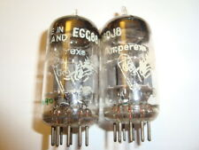 A Pair of Early D-Getter Amperex ECC88 / 6DJ8 Tubes