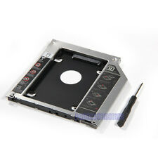 2nd HDD Caddy SATA to SATA Bay for Unibody Apple Macbook, Macbook Pro 13 15 17