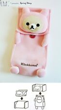(Light Pink) Japanese Anime San-X Rilakkuma Relax Bear Tissue Cover Case