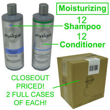 CLOSEOUT! NEW PHYSIQUE MOISTURIZING 12 BOTTLES SHAMPOO & 12 BOTTLES CONDITIONER