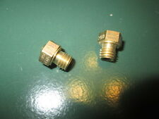 2- petromax lantern aida hipolito generator NIPPLE part for 250 cp lanterns NOS