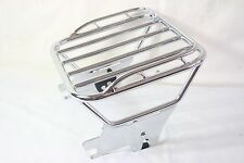 Chrome Detachable Two-Up Luggage Rack FOR HARLEY Touring 97 TO 08