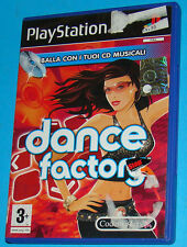 Dance Factory - Sony Playstation 2 PS2 - PAL