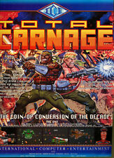 """Total Carnage """"Coin-Op Conversion"""" 1994 Magazine Advert #5723"""