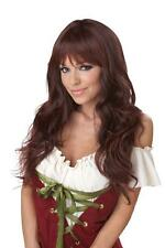 Coquette Bar Maid Adult Costume Wig - Brunette