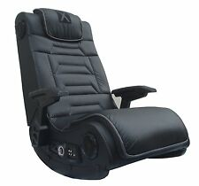 X Rocker Pro H3 4.1 Audio Gaming Chair, Wireless, xbox Video player Game RCA New