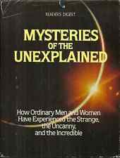 MYSTERIES OF THE UNEXPLAINED Reader's Digest - FLYING SAUCERS, GHOSTS, ESP, MORE