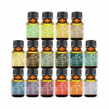 Essential Oils Set 16pc for Air Diffuser Aroma Therapy Humidifier Mist Vapo