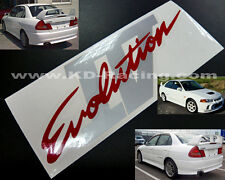 Evo 4 IV Rear Boot Stickers Decals Ralliart Lancer Evolution FREE SHIPPING x 1