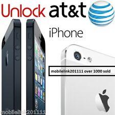 Iphone Factory Unlock CODE service 100%  ATT 5/5S/5C/6s/6/6+  PREMIUM CLEAN IMEI