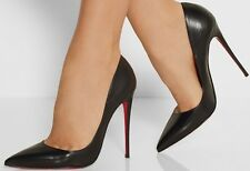 Christian Louboutin Pigalle' Pointy Toe Pump Patent Lather Sz 35 1/2
