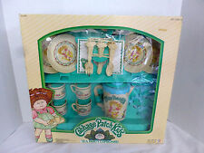 Vintage Cabbage Patch Kids Tea Party Cupboard Play Set NIB 1984 No. 618 O A A