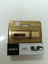 Sony NWZ-B183F Flash MP3 Player with Built-in FM Tuner Walkman (4GB)- Gold