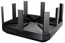 SEALED TP-Link AC5400 Wireless Wi-Fi Tri-Band Gigabit Gaming Router Archer 4K HD
