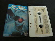 JOHNNY WARMAN WALKING INTO MIRRORS ULTRA RARE AUSSIE CASSETTE TAPE!