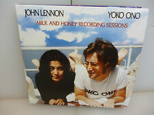 JOHN LENNON/YOKO ONO-MILK AND HONEY RECORDING SESSIONS-3CD DIGIPACK-NEW. SEALED.