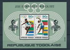[46616] Togo 1974 Olympic games Munich with ovp World Cup Football MNH Sheet