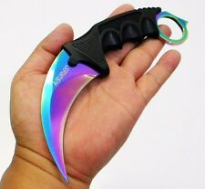 KARAMBIT NECKLACE SURVIVAL HUNTING KNIFE TITANIUM BLADE [9508]