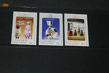 SOLOMON ISLANDS 1977 QUEEN ELIZABETHS SILVER JUBILEE SET OF 3 FINE M/N/H
