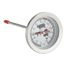 Pyrometer Thermometer Temperature probe Gauge Tester 0-120℃ Stainless Steel