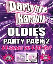 Party Tyme Karaoke Oldies Party Pack 2 - New Sealed 2006