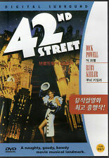 42nd St / Street - Dick Powell Ruby Keeler (NEW) Classic Broadway Musical DVD