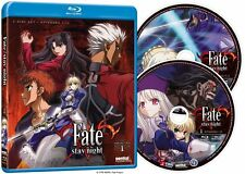Fate / Stay Night . Collection 1 . Episodes 1-12 . Anime . 2 Blu-ray . NEU