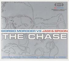 GIORGIO MORODER vs JAM & SPOON - The chase CDM 5TR 2000 TRANCE / HOUSE RARE!