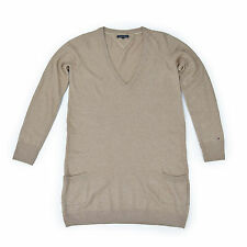 TOMMY HILFIGER Damen Pullover L 40 Angora beige Pulli Woman Sweat Oberteil w.NEU