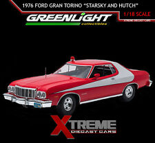 GREENLIGHT ARTISAN 19017 1:18 1976 FORD GRAN TORINO STARSKY AND HUTCH TV SHOW