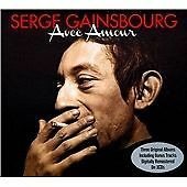 Serge Gainsbourg - Avec Amour (2012) [3 CD]