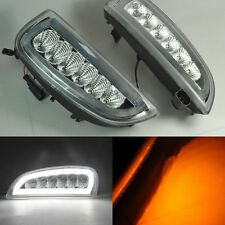 2x White LED Tube Daytime Day Fog Light DRL signal For Porsche Cayenne 2006-2010
