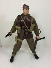 1/6 21ST CENTURY BRITISH COMMANDO STEN+SILENCER+COLT 1911&CIG WW2 DRAGON BBI DID