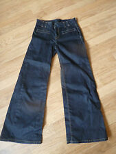 womens LEVI'S flared jeans - size 30/30 great condition