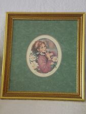 Mary Vickers * Signed Lithograph * Rose * Framed
