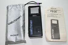 Sony Watchman fd-2e Portable TV Television 90er retro 90s vintage-Top