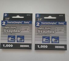 "2000 - 1/4"" Staples for the Swingline #101- Vintage Swingline Staple Gun"
