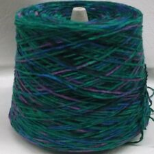 ASTRO SPACE DYED PEACOCK SPLASH COTTON CHENILLE YARN