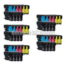 50PK New LC61 Ink Cartridge for Brother MFC-495CW MFC-J410W MFC-295CN LC61 LC-61