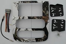 Dodge RAM Double Din 2002, 2003, 2004 2005, 1500 2500 3500 Mossy Oak Winter