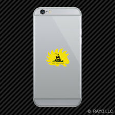 Libertarian Porcupine Dont Tread On Me Cell Phone Sticker Mobile Die Cut 2a