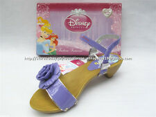 #TheBestSeller 50% OFF+FREE BAG! DISNEY PRINCESS PURPLE SANDALS SHOES 34/8-9 YO