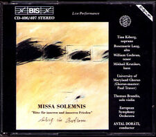 Antal DORATI: BEETHOVEN Missa Solemnis + Rehearsal 2CD Live 1988 Rosemarie Lang
