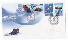 AUSTRALIAN ANTARCTIC TERRITORY 1998 ANTARCTIC TRANSPORT SET OF 4 FIRST DAY COVER