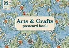Arts & Crafts Postcard Book, National Trust, New Books