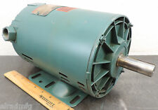 RELIANCE B76P6558M-YM 186697 ELECTRIC MOTOR 1 HP 1080 RPM 3-PH 200 VOLTS USED