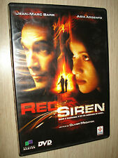 DVD RED SIREN ASIA ARGENTO JEAN-MARC BARR ITALIANO ENGLISH